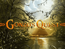 Аппарат Gonzo's Quest на зеркале от Вулкана