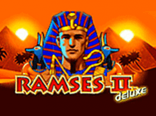 Автомат Ramses II Deluxe на зеркале от Вулкана