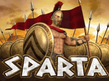 Автомат Sparta на зеркале от Вулкана